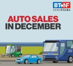 Auto sales see 11% YoY growth in December 2020