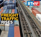 Railways freight traffic hits record high in January 2021