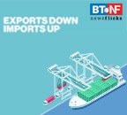 Exports down 0.3%, imports up 7% in February 2021
