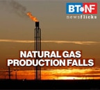 Domestic natural gas production declines 15.9% during 9M-FY21