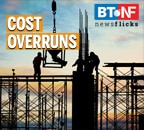 441 infrastructure projects have been hit by cost overruns