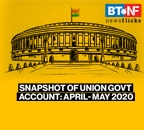 Snapshot of Union Government account: April- May 2020