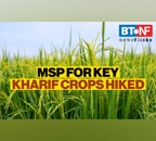 Govt increases MSP for Kharif crops to provide relief to farmers