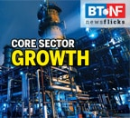Core sector growth contracts by 15% in June 2020