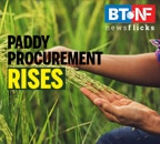 Paddy procurement for kharif season increases 26.5%