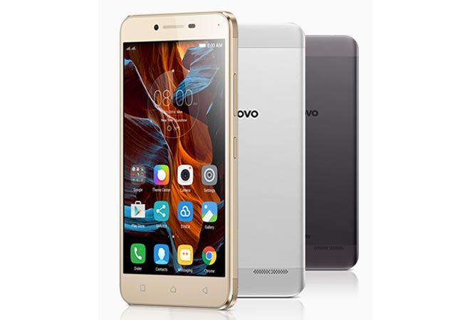 Bolstering its Vibe smartphone portfolio, Chinese technology major Lenovo on Monday launched Vibe K5 at Rs 6,999.