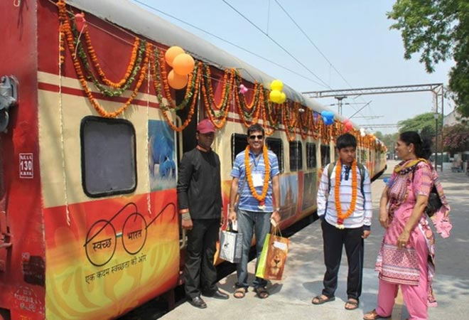 IRCTC's new semi luxury train Tiger Express embarked on a