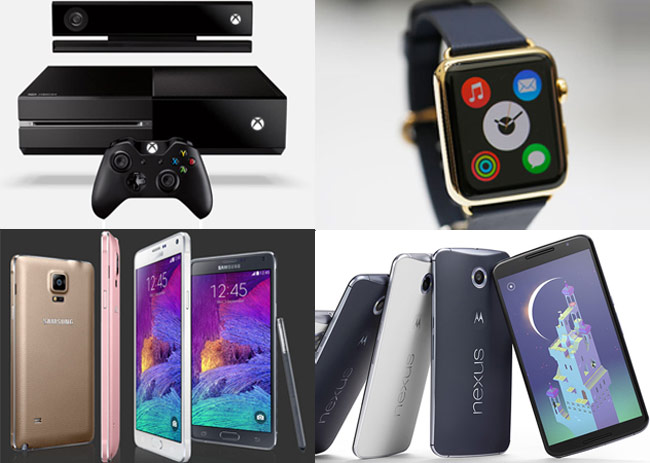 Have a look at the most searched consumer electronics items in 2014.