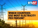 India ranks 104th in per capita electricity consumption