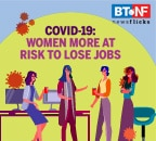 Why women are more at risk to suffer job loss than men