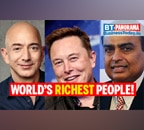 From Elon Musk to Mukesh Ambani: 10 of the richest people in the world