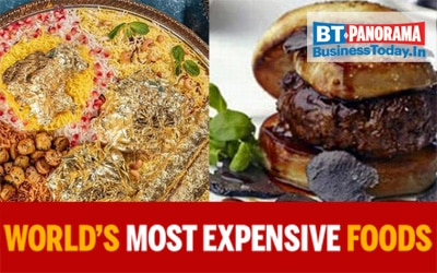 The most expensive food items in the world that are delicious too!
