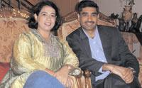 Narinder Kapur and Ira Mehra