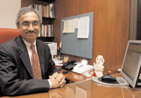 Ravi Narain, managing director & CEO of the NSE