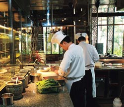 At work: China Kitchen has a large crew of 29 chefs