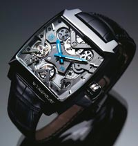 TAG HEUER MONACO V4: The world's first belt-driven watch