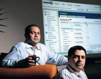 Deepak Srinath (R) and Uday Disley, Viedea Capital Advisors, Bangalore