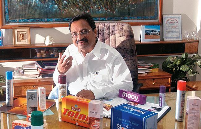 Girish Patel, Promoter, Paras Pharmaceuticals