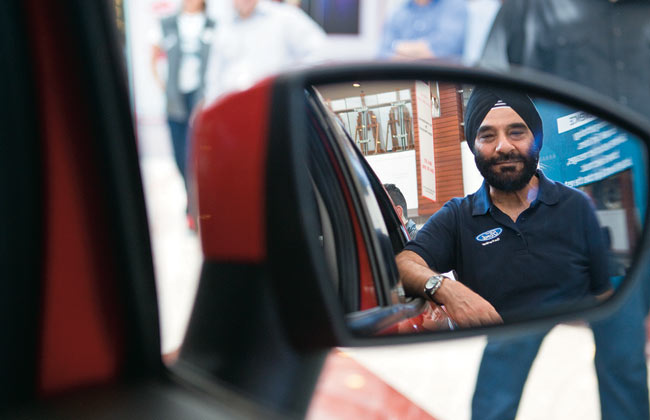 Joginder Singh, President and MD, Ford India