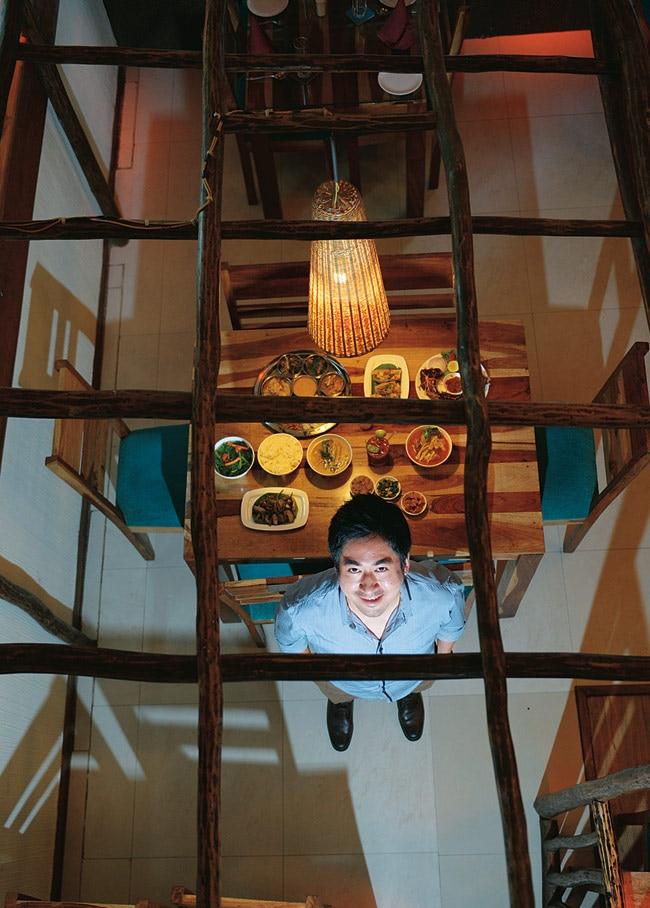 Chuba Manen Longkumer at Naga Kitchen