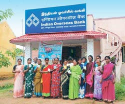 Inclusive empowerment: Beneficiaries of the Milch Animal Loan Scheme at an IOB branch