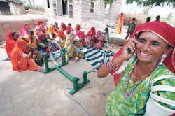 Dialing into change: A self-help group in Bhato Ka Dher village