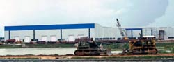 Landlocked: The Tata Motors' factory site at Singur