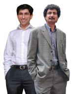 Ratul Puri, ED, Moser Baer India and Ravi Khanna, CEO, Moser Baer Photovoltaic