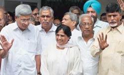 Karat, Mayawati, Bardhan and Naidu: Deal time
