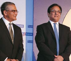 Aroon Purie and Rana Kapoor