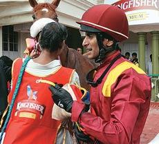 Jockey Srinath Surendra
