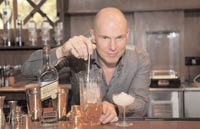 Marchant is the global ambassador for Diageo Reserve