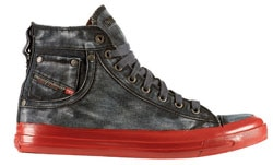 Diesel's high-top denim shoes are worth the buy