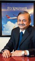 A. Raghunathan Chief Financial Officer, Kingfisher Airlines
