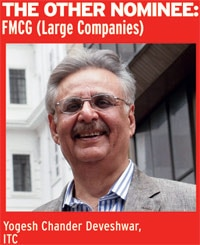 The other nominee: FMCG (Large companies)