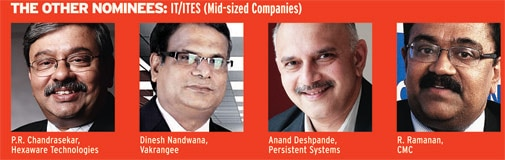 The other nominees: IT/ITES (Mid-sized companies)