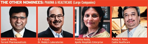 The other nominees: Pharma & Healthcare (Large Companies)