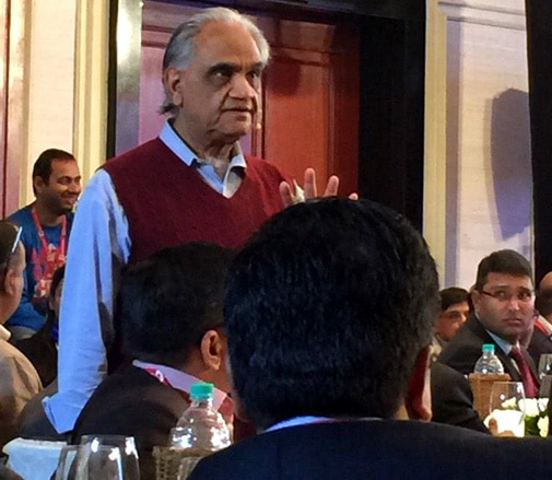 Management Guru and CEO Coach Ram Charan at MindRush 2014