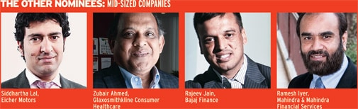 The other nominees: Mid-sized companies