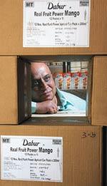 Jai Prakash Tallam, Dabur Distributor