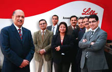 Astute leadership: Gupta (extreme left) and his team is bang-on when it comes to initiatives