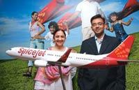 Talent flight: SpiceJet's latest recruits—Sarabjeet Kaur (L), Head (Customer Services), and Anish Srikrishna, Senior VP (Marketing)