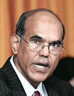 Duvvuri Subbarao, Governor, Reserve Bank of India