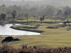 The picturesque Highlands course