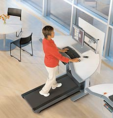 Walkstations promise a fitter lifestyle