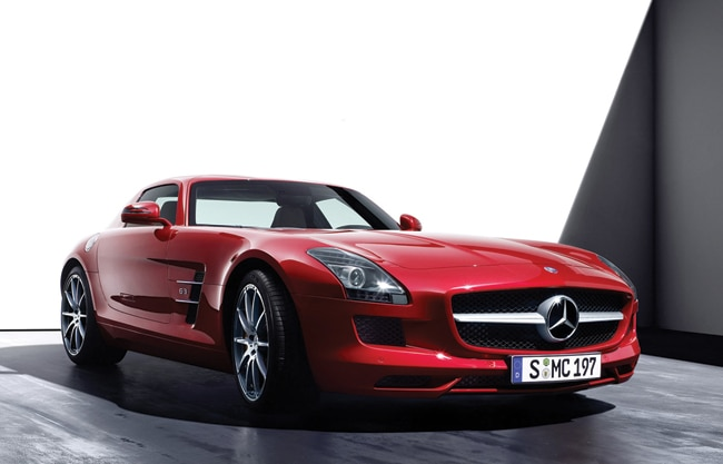 The SLS AMG By Mercedes-Benz