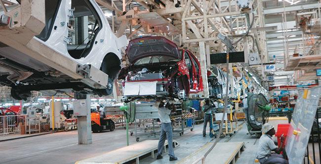 Nissan-Renault joint venture plant at Oragadam near Chennai