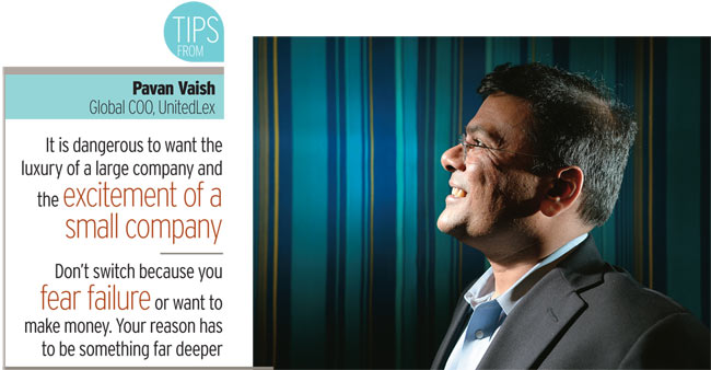Pavan Vaish, Global COO, UnitedLex