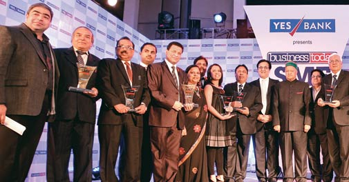 The winners at BT-Yes Bank SME Awards