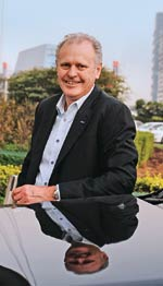 Michael Boneham, President and MD, Ford India